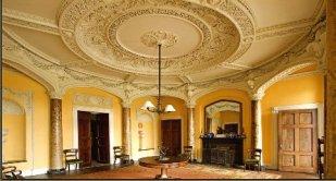The interior of Borris House