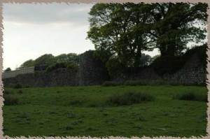 The walls of Athenry.