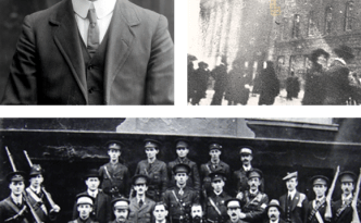 Sean MacDiarmada on whose life a new film about the Easter Rising will be based.