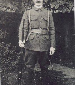 O'Rahilly in Volunteer uniform.