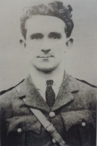 Tom Crawley who assassinated Sergeant King on the morning of the Truce 11 July 1921.