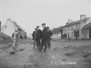 The RIC patrol rural east Galway. (Courtesy of National Archives)