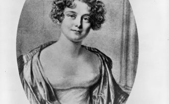 Lady Jane Franklin. (courtesy of Tasmania Archive and Heritage Office).