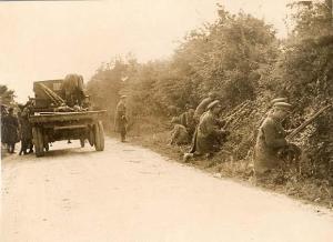 Free State troops fend off an ambush.