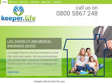 Keeper Life - Insurance