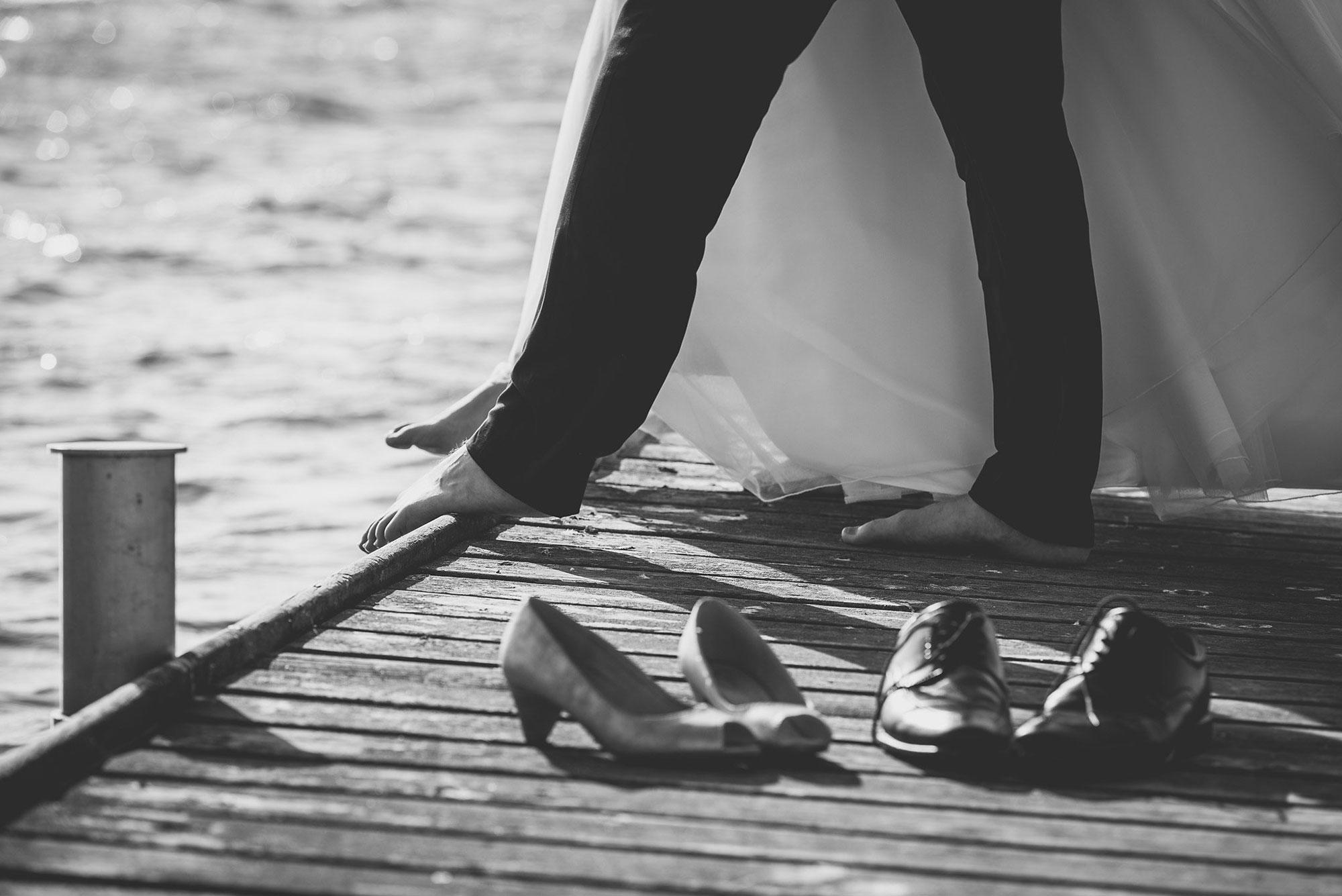 Bryllups detalje fotograf
