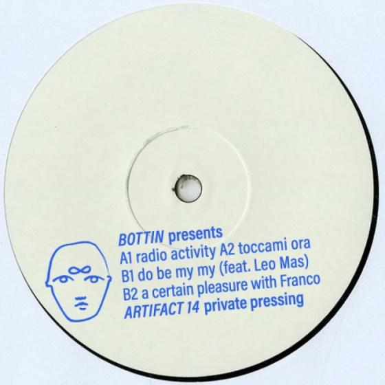 Bottin - Artifact 14 EP [Artifact]