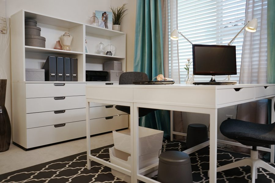 The Unveiling of my IKEA Home Tour Makeover Home Office Makeover - ikea home office ideas