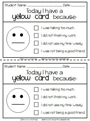 Best 25+ Behavior cards ideas on Pinterest Punched card - problem report