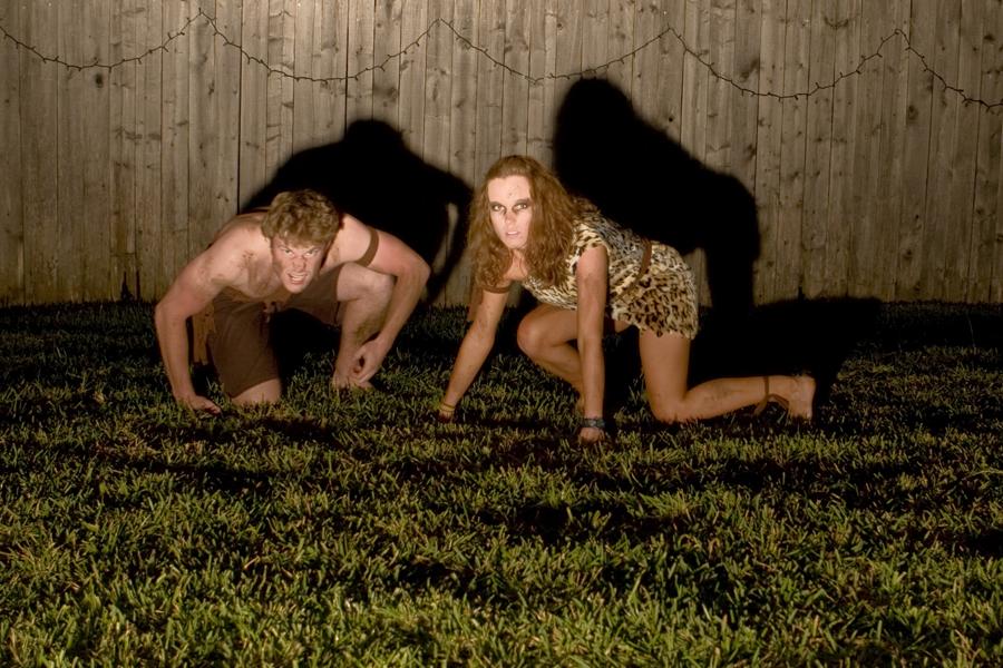 cavemen for halloween