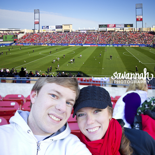 brandon won tickets on twitter and we road tripped to see the US women's national team