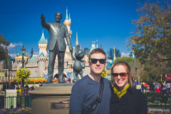 With Walt and Mickey
