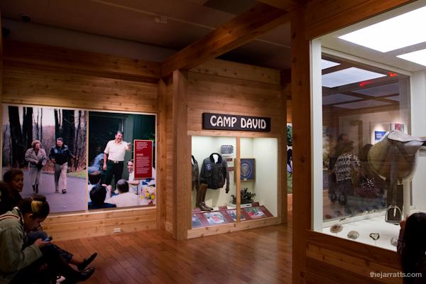 Reagan exhibits - Camp David