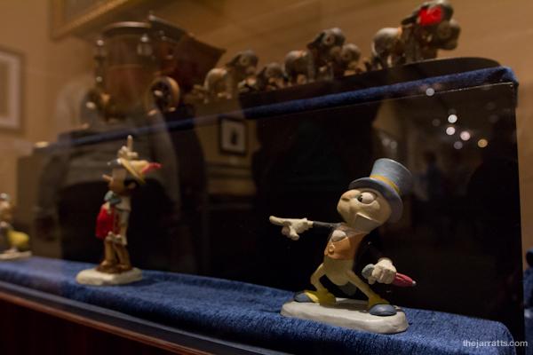 More Pinocchio maquettes