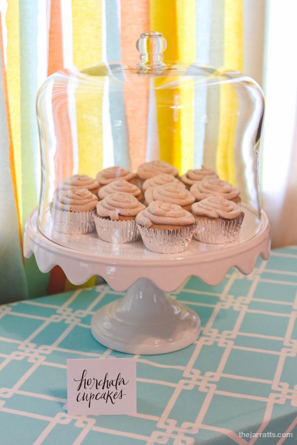 Horchata cupcakes
