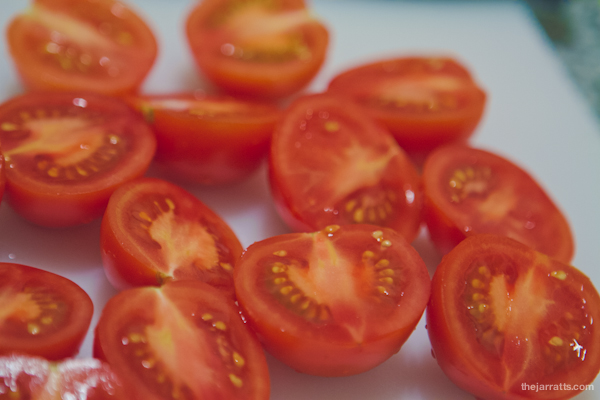 Tomatos ready for grillin