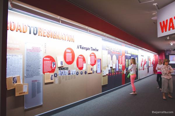 Watergate exhibit