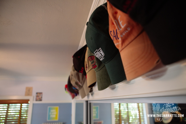 hat storage | thejarratts.com