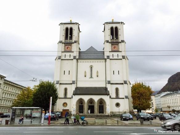 St. Andrä Church, across from Schloss Mirabell