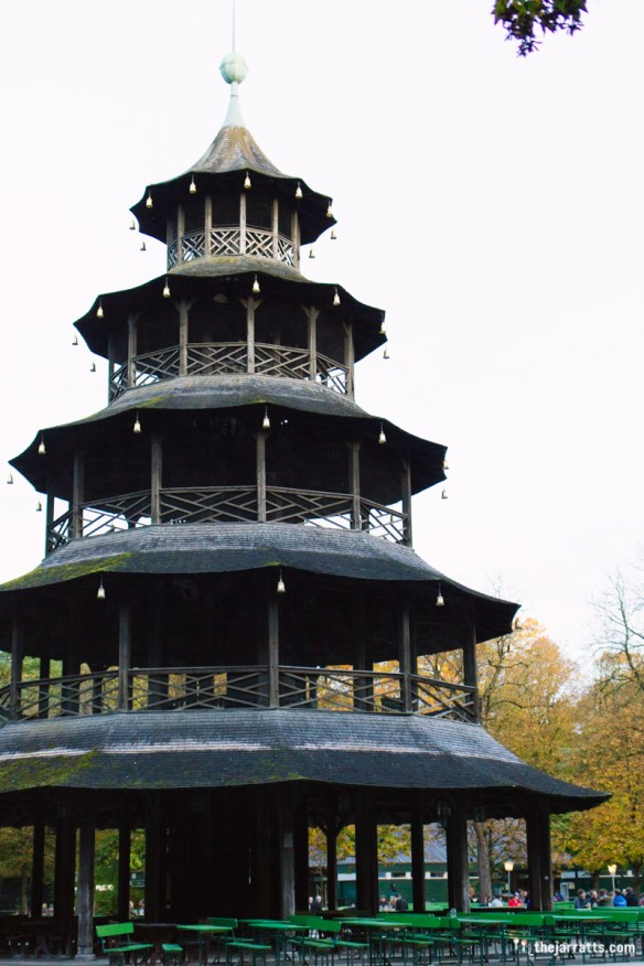 Outside the Chinesicher Turm