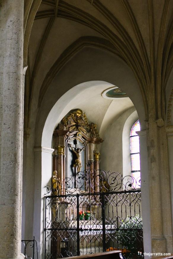 inside nonnberg abbey