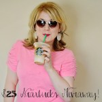 Starbucks Giveaway+I'm On Vacay… #Contest #Giveaway