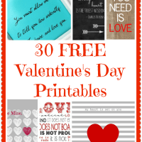 30+ FREE Valentine's Day Printables and Subway Art