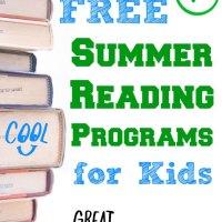 FREE Summer Reading Rewards Programs