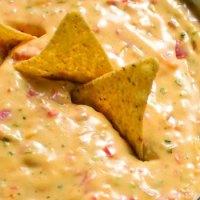 Spicy Queso Hummus Dip Recipe