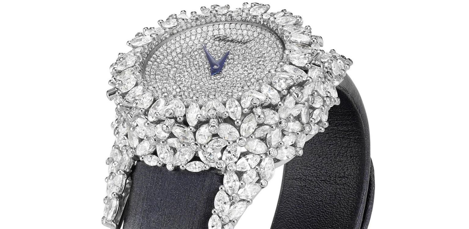 Diamond Watches For Her Ws Theme Chopard Green Carpet Watch