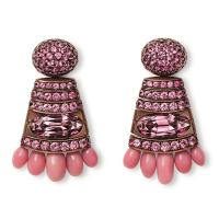 Conch pearl and pink spinel earrings | Hemmerle | The ...