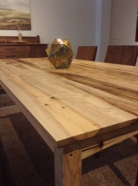Oregon Myrtlewood Shaker Dining Table | The Joinery