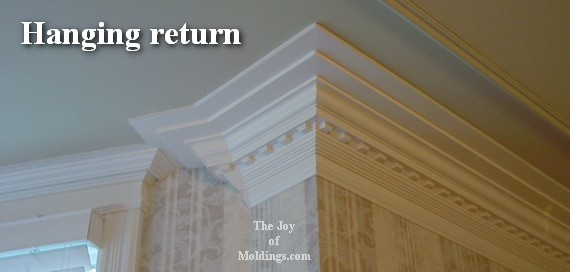 Four Ways To Terminate A Crown Molding - The Joy Of Moldings.Com