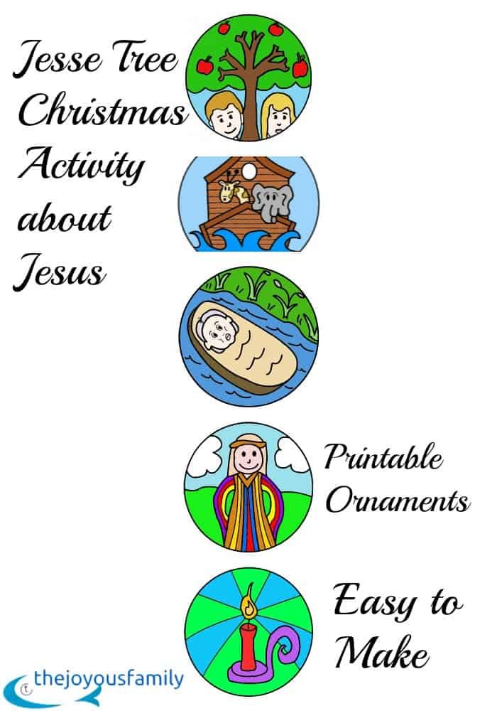 Jesse Tree Teachs Kids the Whole Picture of Jesus in One Fun