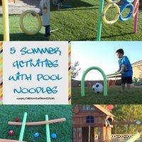 5 Summer Pool Noodle Activities