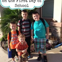 A Letter to my Sons on the First Day School - Back to School Quotes