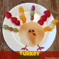Turkey Pancakes - Easy Thanksgiving Breakfast
