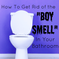 "How To Get Rid of the ""Boy Smell"" in Your Bathroom"