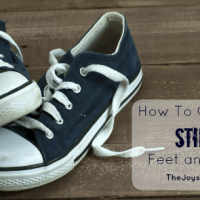 How to Get Rid of Stinky Feet and Shoes - Natural Remedies