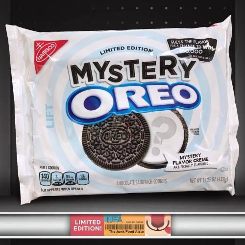 Medium Of Oreos Mystery Flavor