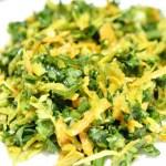 Golden Beet Kale Salad with Tahini Tamari Dressing