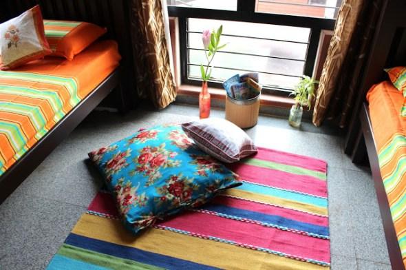 summer colors palette - Deepa and Sriram's home tour
