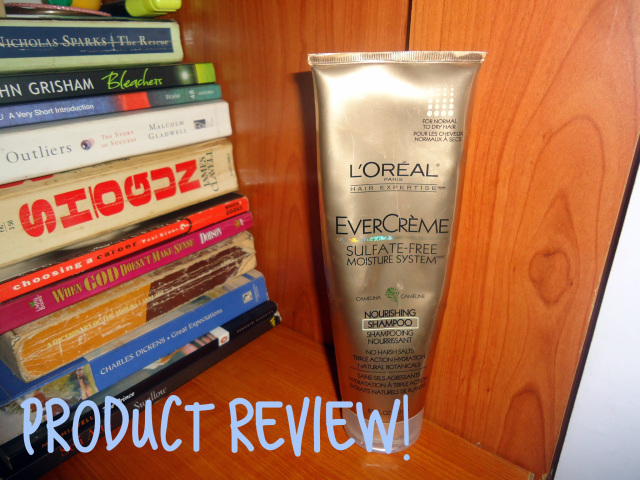 Product Review- Natural Hair- L'oreal ever creme shampoo