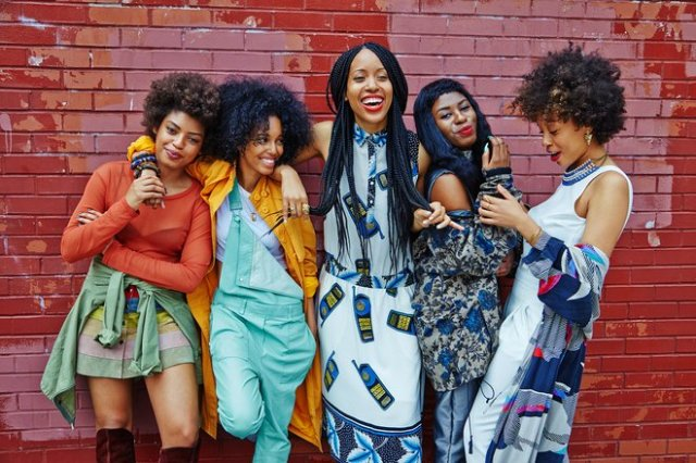 Natural hair- Curlfriends- St. Heron- Brooklyn- Vogue