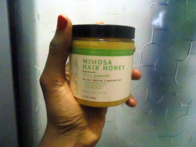 Carol's Daughter Mimosa Hair Honey Review