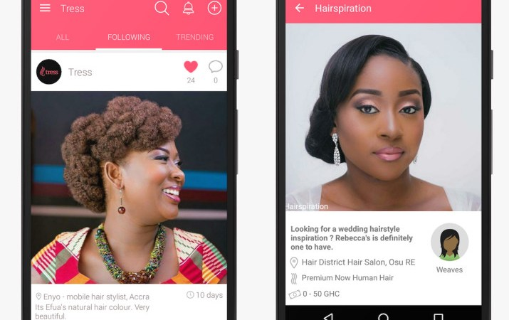 Introducing: Tress App for Hairspiration