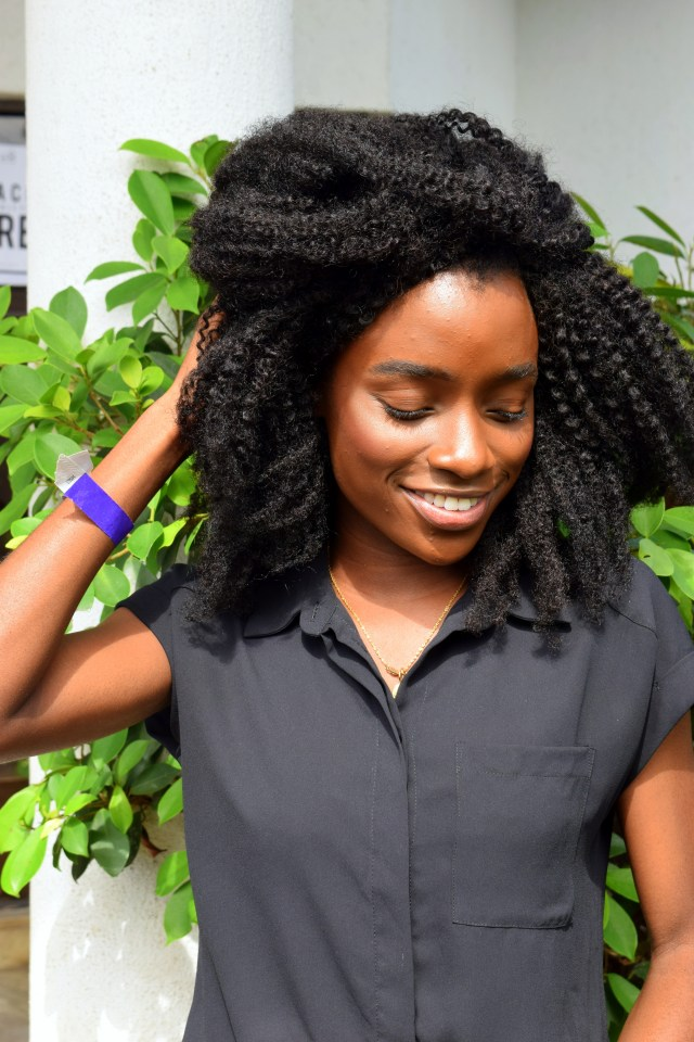 Naturals in the City- Whitney Madueke Glowing
