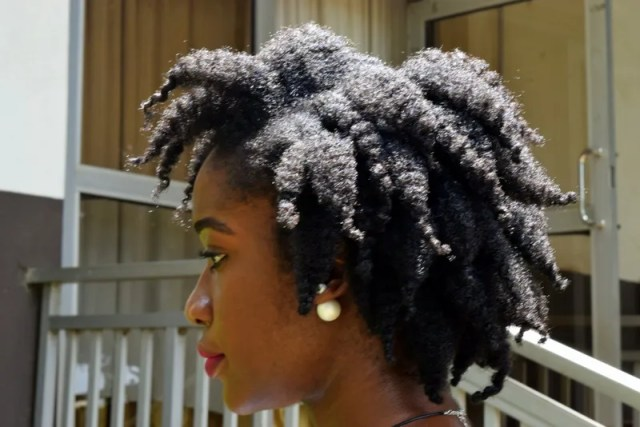 Curl definition from a Chunky twist-out