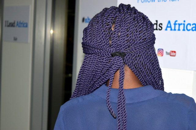 Vibrant! Purple twists with Brazilian wool