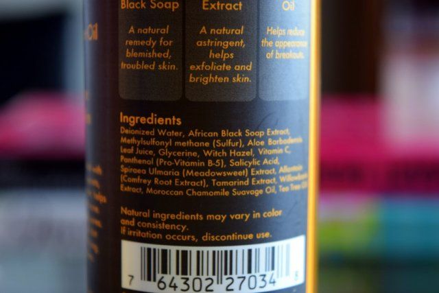 SheaMoisture African Black Soap Problem Skin Toner 5